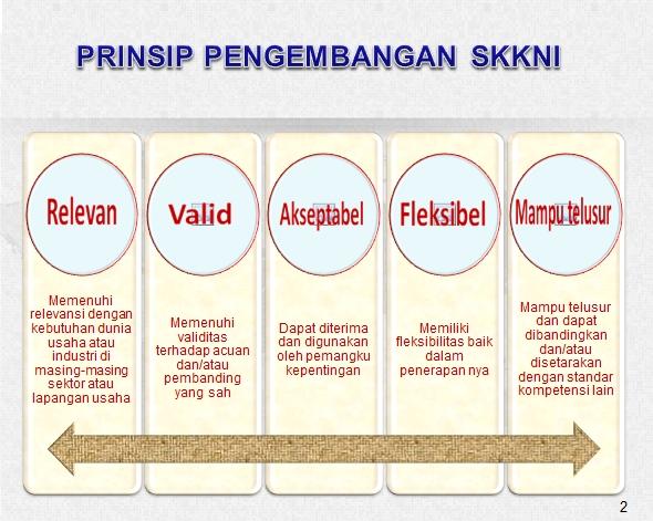 Gambar 4. Prinsip Pengembangan SKKNI