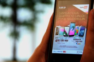 Telkomsel  Geber  Penetrasi 4G Dengan Kredit Smartphone b85f7ea322