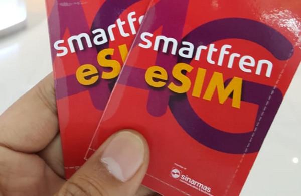 Pakai eSIM, Pelanggan Smartfren Tak Perlu SIM Card Fisik