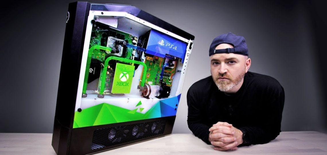 Perangkat Gaming Multifungsi, Bisa Main PS, Xbox, Switch, PC