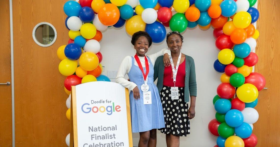 Karyanya Terinspirasi Sang Ibu, Remaja Ini Juara Kontes Google Doodle