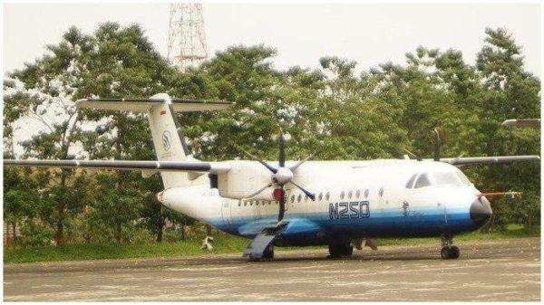 Mengenal Pesawat N-250 Gatot Kaca Buatan BJ Habibie