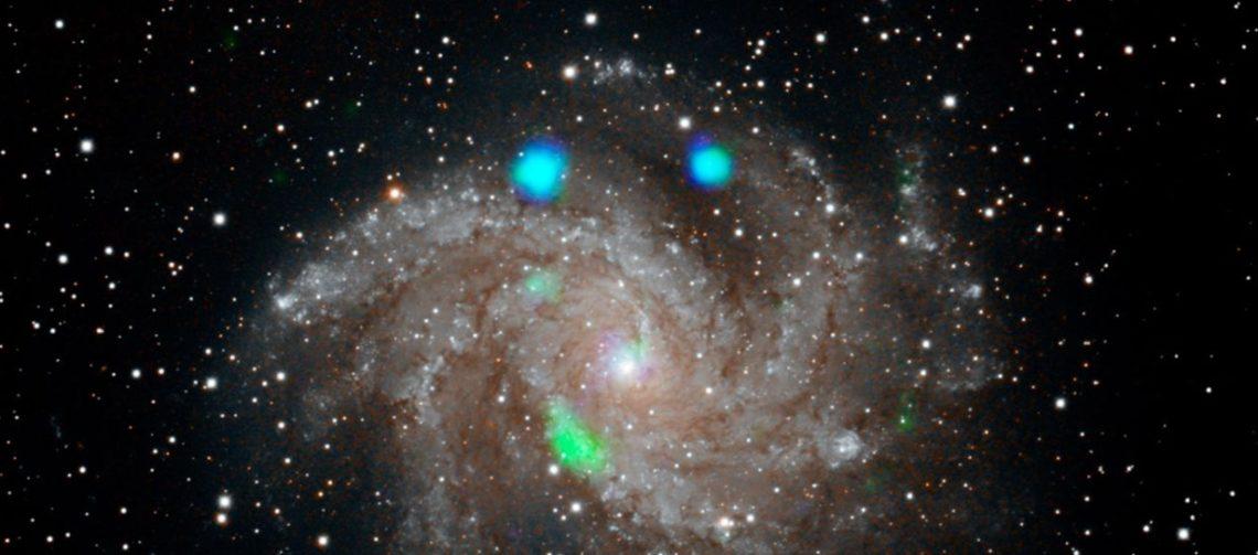NASA Temukan Cahaya Misterius Hijau dan Biru, Alien?