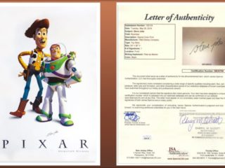 Poster Toy Story Bertanda Tangan Steve Jobs Laku Rp 445 Juta