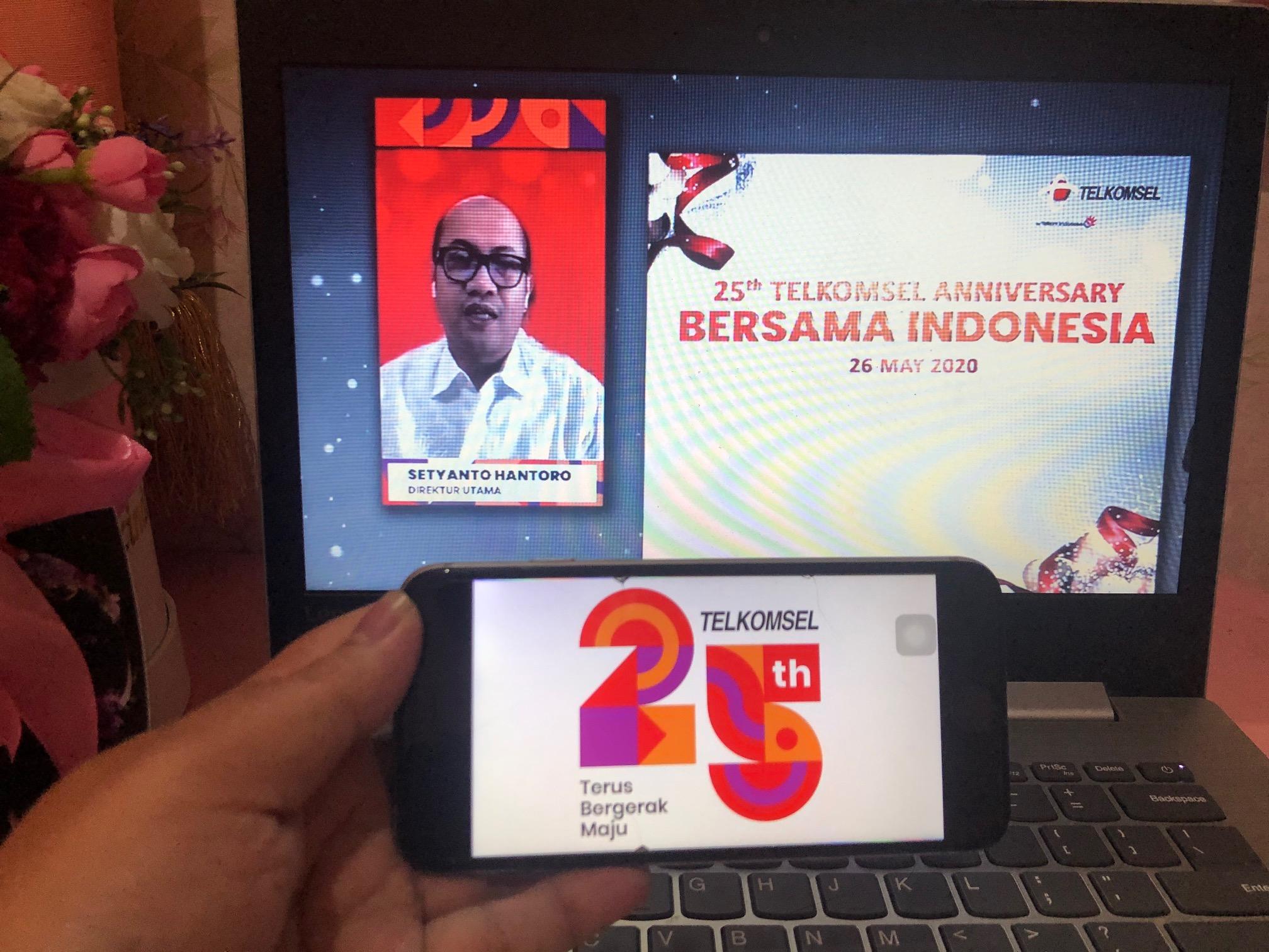 25 tahun Telkomsel