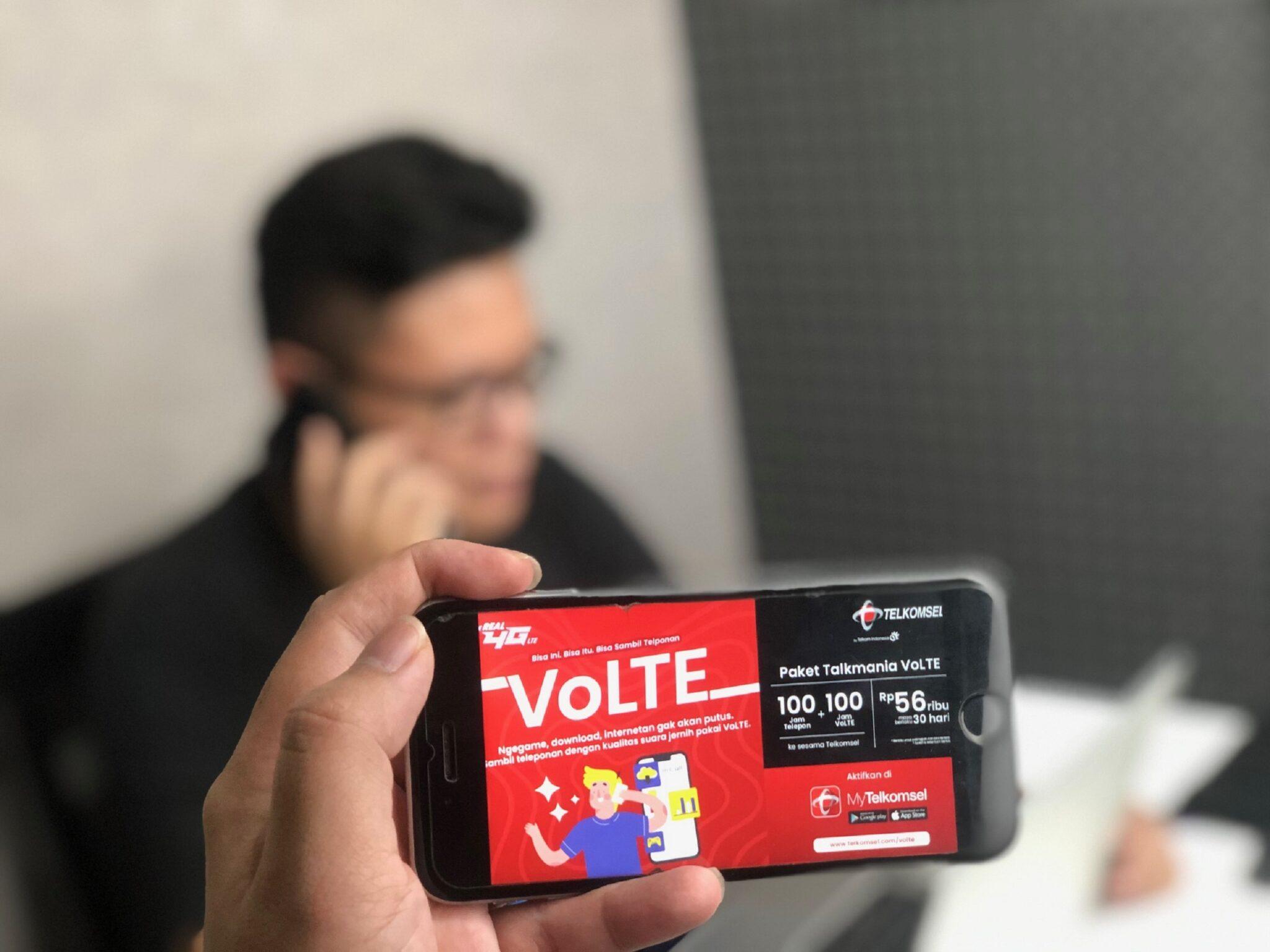 Telkomsel VoLTE