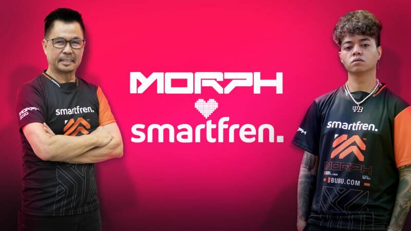 Smartfren Dukung MORPH Team