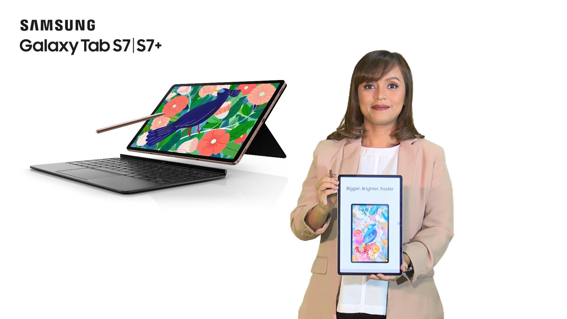 Samsung Galaxy Tab S7 dan S7+,
