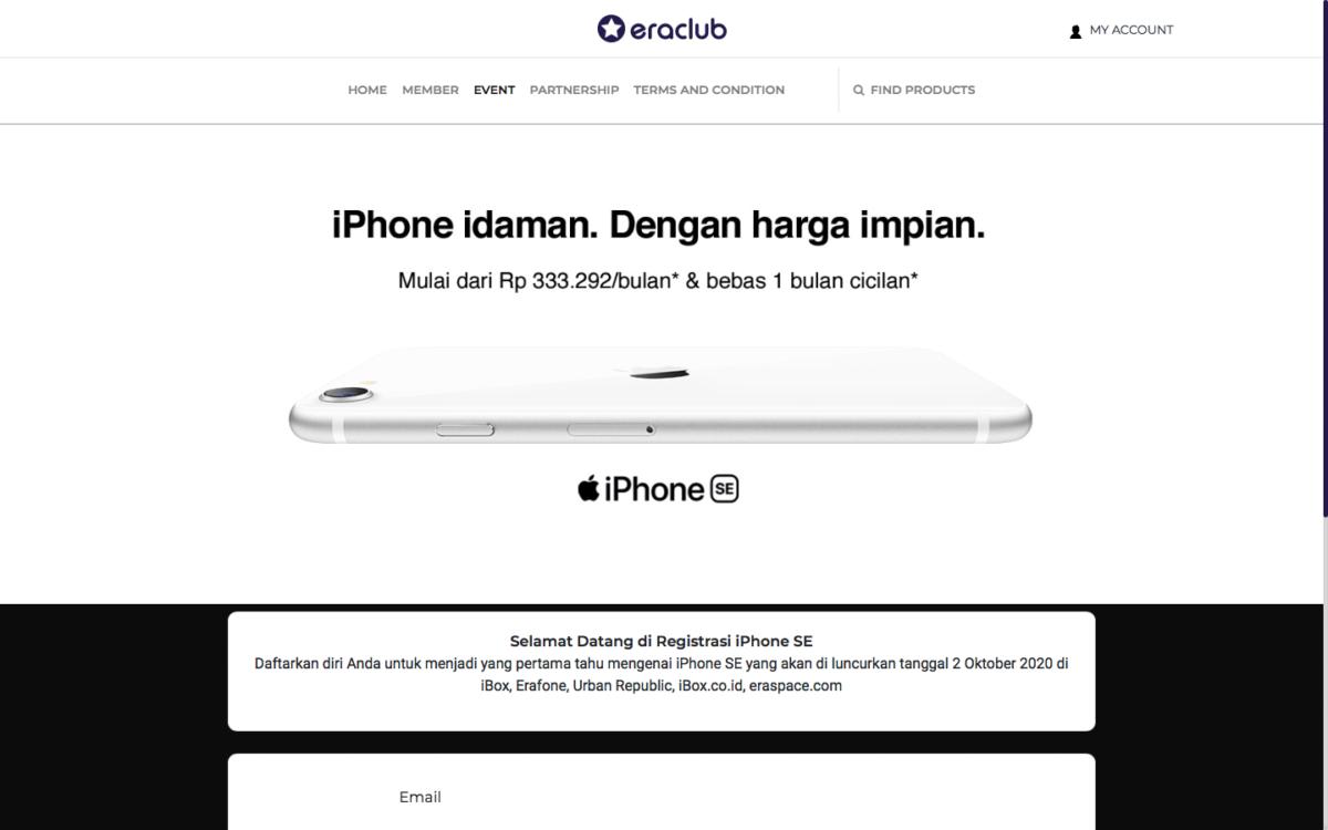 Harga Jual iPhone SE