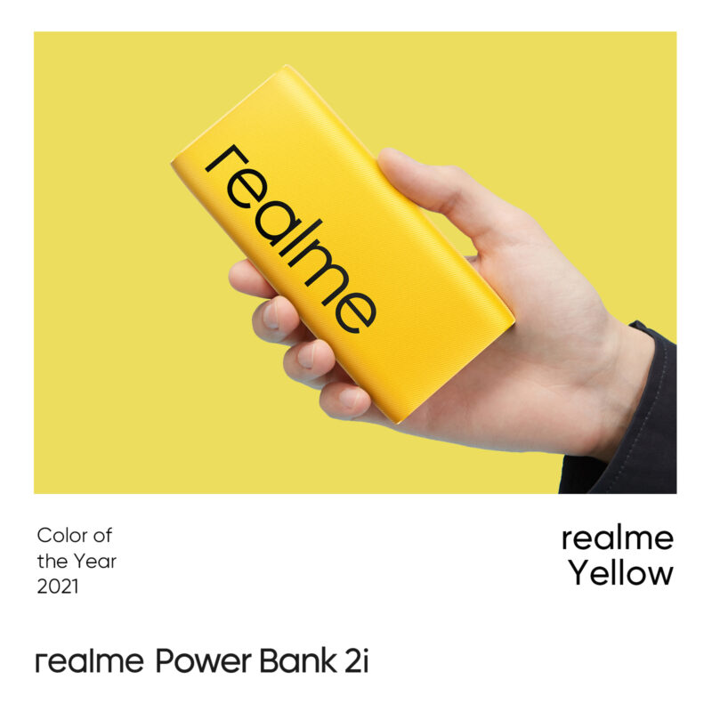 realme Gray realme yellow