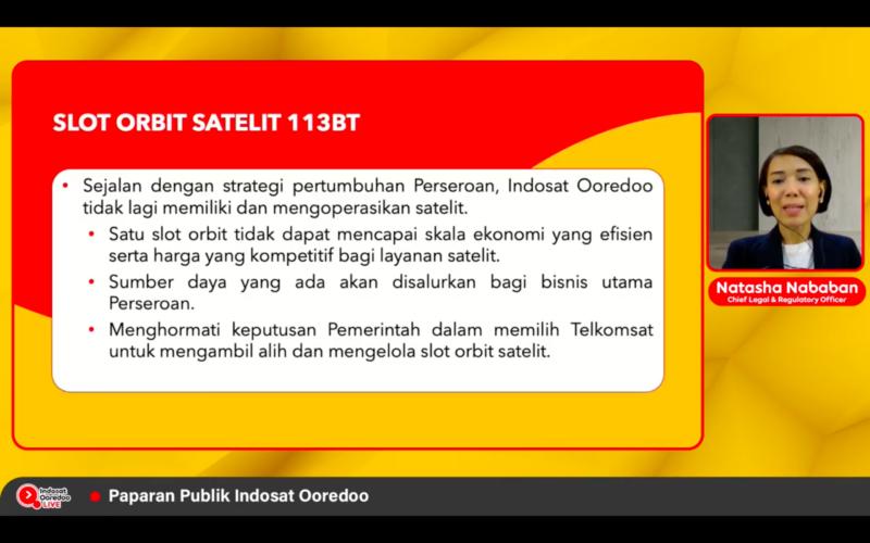 Indosat Lepas Bisnis Satelit