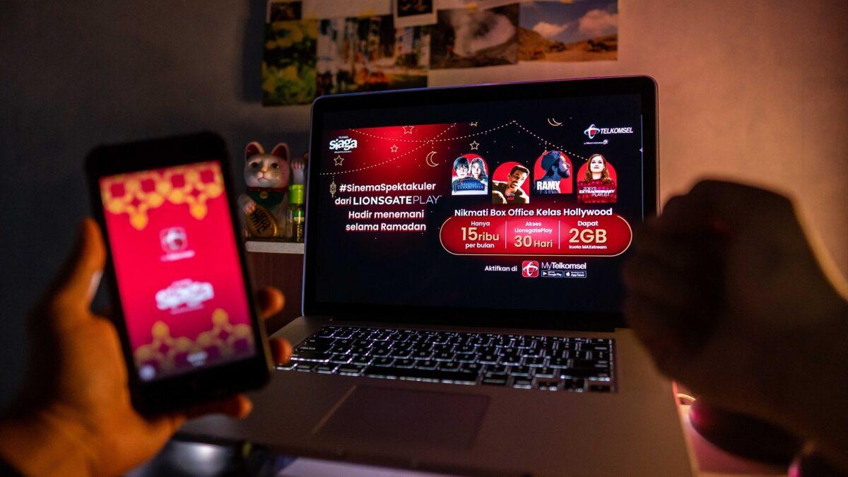Telkomsel dan Lionsgate Play