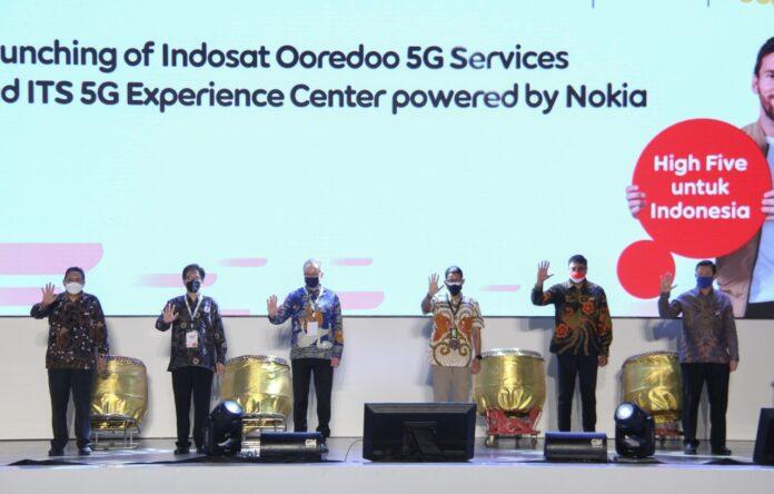 Layanan 5G Indosat Ooredoo