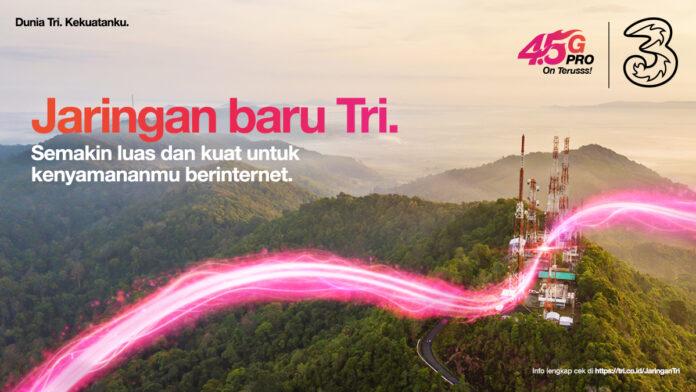 3 Indonesia Perluas Jaringan