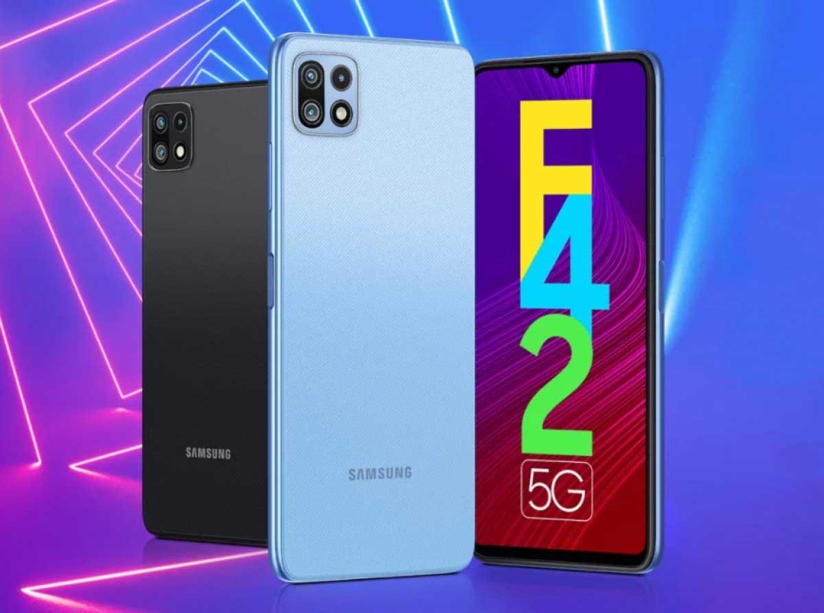 Samsung Galaxy F42 5G Harga Spesifikasi RAM Prosesor KAmera Baterai Sistem Operasi Indonesia
