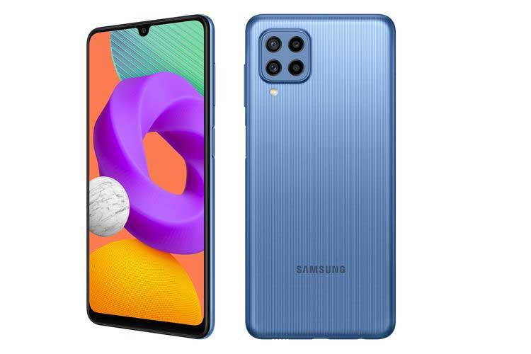 Samsung Galaxy M22 Harga Spesifikasi RAM Prosesor KAmera Baterai Sistem Operasi Indonesia